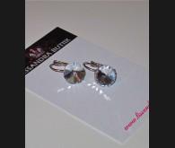 Ab-läikeliste klaasidega kõrvarõngad
